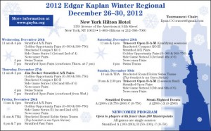 Edgar Kaplan Winter Regional